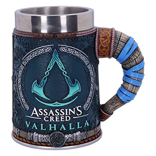 Assassin's Creed Valhalla Unisex Jarra de Cerveza multicolor, Poliresina (B5335S0)