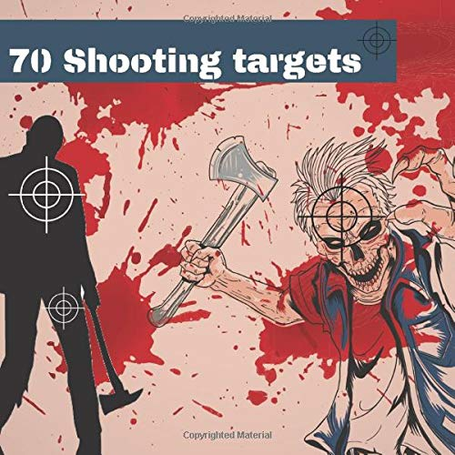 70 Shooting Targets: Zombie targets 8.5