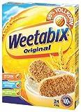 Weetabix Original Whole Grain - Cereali per la prima colazione - Cereali integrali - Alta fibra, basso contenuto di zucchero, basso contenuto di grassi - 7x430g