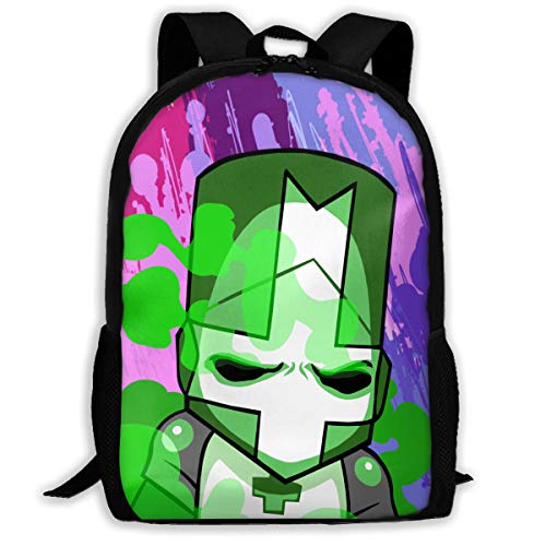 Laptop Bag Green_Knight Travel Backpack Purse Strong Storage Student College Backpack for Men/Women