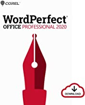 $349 » Corel WordPerfect Office 2020 Professional | Word Processor, Spreadsheets, Presentations, Paradox Database Management Docu...