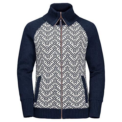 Jack Wolfskin Damen Northwind Jacket W Jacke Mit Gestrickter Außenseite, Midnight Blue, S