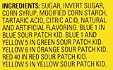 240Count Bulk SOUR PATCH KIDS Sweet & Sour Candy, Individually Wrapped Pack, Pack of 1