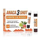 Anaca3 – Shot Perte de Poids(1) – Brûle les Graisses & Amincit (2) – Boîte de 14 shots à Boire – Shot de 25 ml
