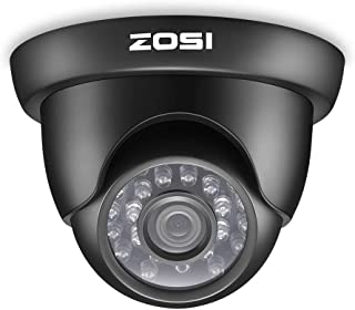 ZOSI HD 1080P Security Cameras 4-in-1 Home Monitor 2MP Surveillance Weatherproof 65ft(20m) IR Distance Cameras, Compatible...