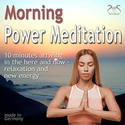 Morning Power Meditation audiobook cover art