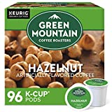 Green Mountain Coffee Roasters Hazelnut, Single-Serve Keurig K-Cup Pods, Flavored Light Roast Coffee, 96 Count