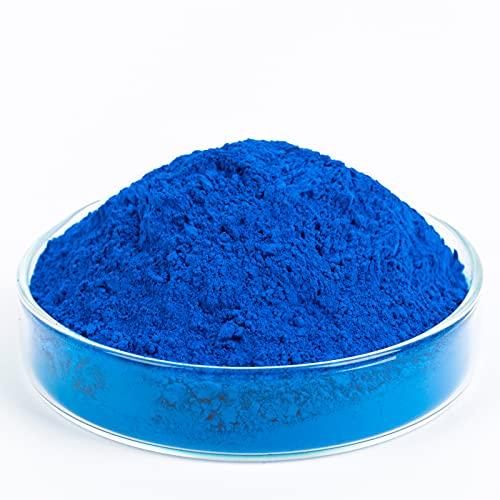 GOODTAKE Blue Pigment Cement Pastel Tile Paint Color Pigment DIY Manually Paving Concrete Mold Concrete Color Pigment Dye for Cement Mortar Grout (Blue, 8 oz)