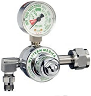 M1-326-P, Nitrous Oxide Single Stage Preset 50 PSI Pressure Healthcare Regulator