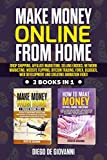 MAKE MONEY ONLINE FROM HOME: DROP SHIPPING, AFFILIATE MARKETING, SELLING EBOOKS, NETWORK MARKETING, WEBSITE FLIPPING, BITCOIN TRADING, FOREX, BLOGGER, ... CREATING ANIMATION VIDEO (English Edition)