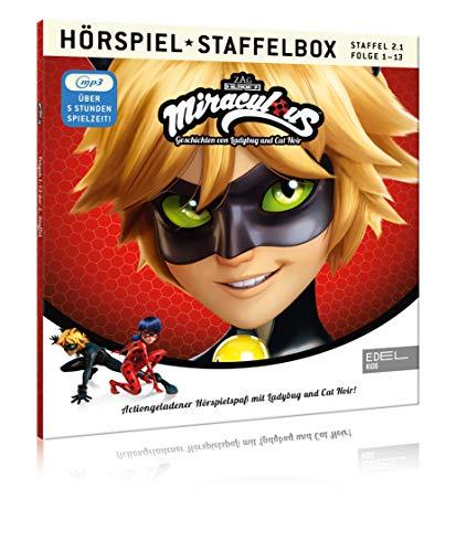 Miraculous - Geschichten von Ladybug & Cat Noir - mp3-Staffelbox 2.1 - Das Original-Hörspiel zur TV-Serie (Folgen 1 - 13)