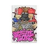 LIANGBO Beastie Boys Graffiti Poster dekorative Malerei
