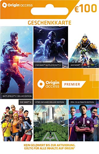 Origin Access Premier 12 Monate |Geschenkkarte - €100 | PC/Mac Code - Origin