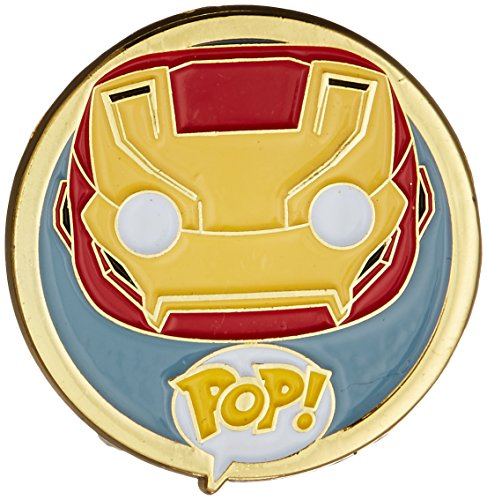 Funko - Pins Marvel - Civil War - Iron Man Pop 3cm - 0849803085513