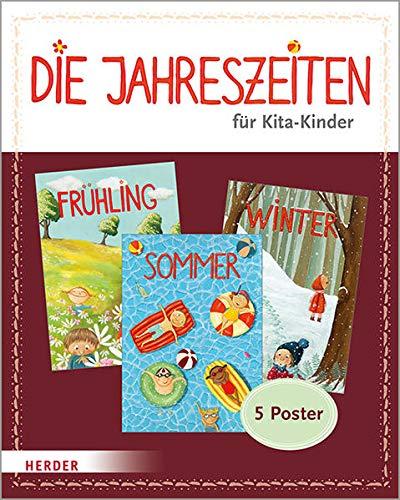 Die Jahreszeiten für Kita-Kinder: 5 Poster