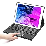 SENGBIRCH iPad 6th Generation Case with Keyboard, Touchpad Detachable Keyboard Case for iPad 6th Gen, 5th Gen (9.7') - iPad Air 2/1 - Soft Case for iPad 6th Generation - Black, 9.7'