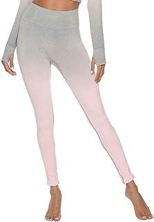 5764222673f33 SSYUNO Women Workout Tie Dye Print Soft Regular and Fashion Leggings  Fitness Sport Gym Yoga Athletic