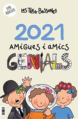 Amigues i amics genials. Calendari 2021 de les tres bessones (Altres)