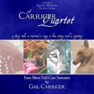 A Carriger Quartet audiobook cover art