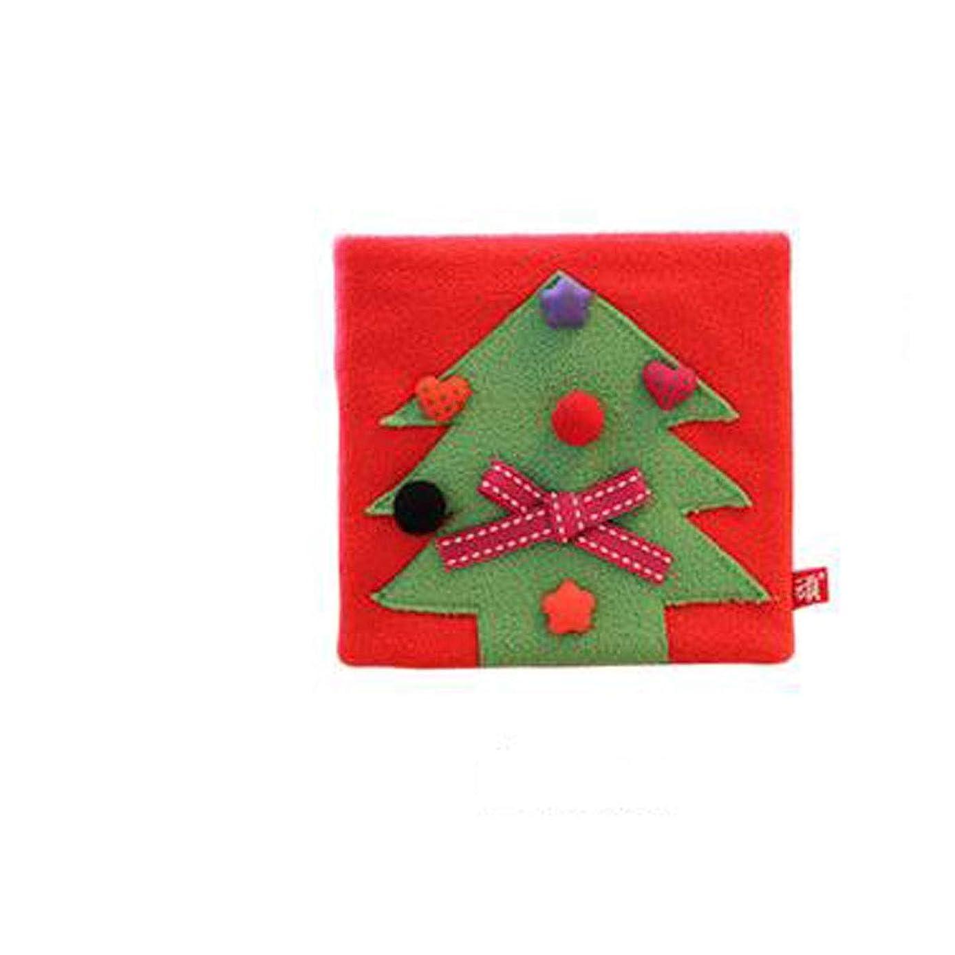 XIONGHAIZI 可愛いペットシリーズ、かわいいペットシリーズ、手帳、クラフト紙、日記、ポータブル、父の日の贈り物、中国のバレンタインデーの贈り物、学校の贈り物、クリスマスプレゼント、クリスマスツリー (Color : Red)