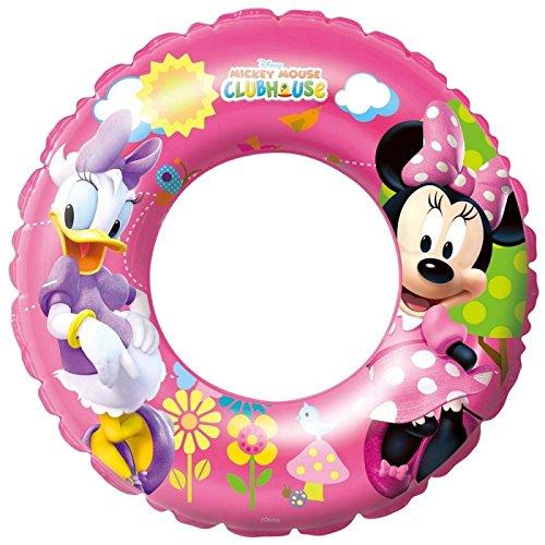 Bestway 56 cm Filles Bouée Piscine Pataugeoire Jouet Minnie Mouse Mickey Mouse Clubhouse