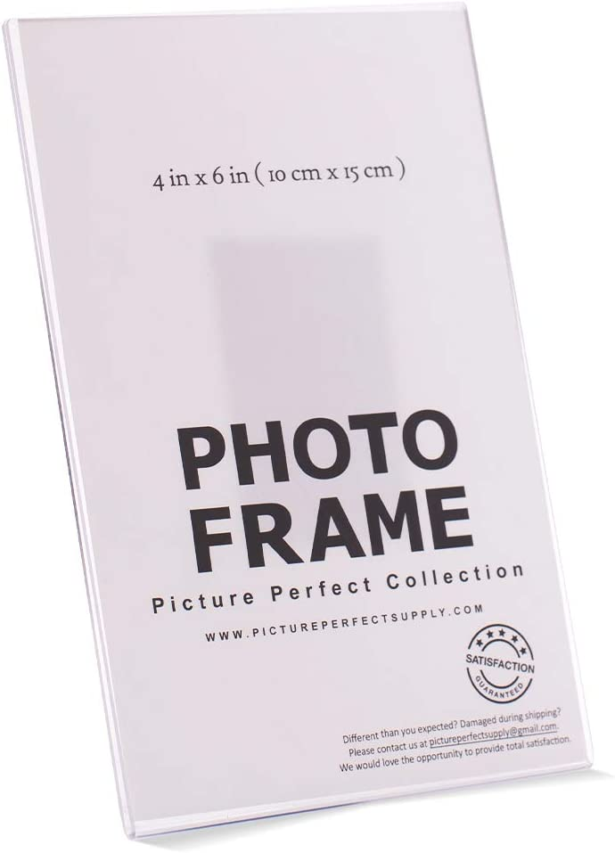 Photo Booth Frames Sale item - 4x6 Clear Acrylic Magnet; Frame Mag Picture Max 46% OFF