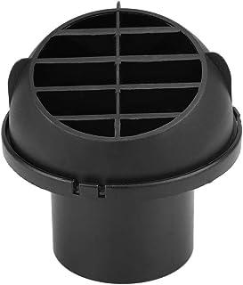 EVGATSAUTO Uscita per aria calda per condotto riscaldante per auto riscaldabile Uscita per aria calda per condotto per riscaldatore per auto 60mm per Eberspacher Webasto Propex Registro aria condizi