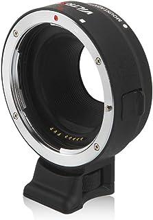 VILTROX EF-EOSM レンズマウントアダプター オートフォーカスリング オートフォーカス 絞り調節可 キヤノンEF/EF-Sレンズ - キヤノンEOS M/EOS M2/EOS M3/EOS M5/EOS M6 /EOS M10/EOS M50/EOS M100カメラ用