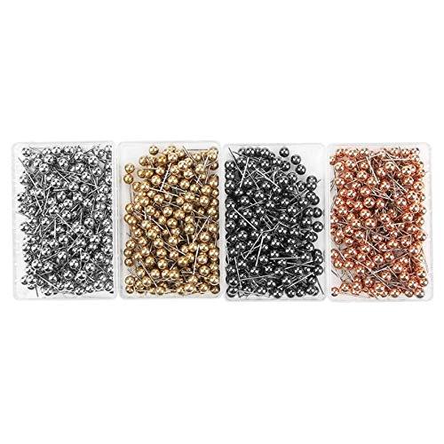 Insmart Caja de 800 piezas de costura para joyas (200 unidades por color) para fabricación de joyas