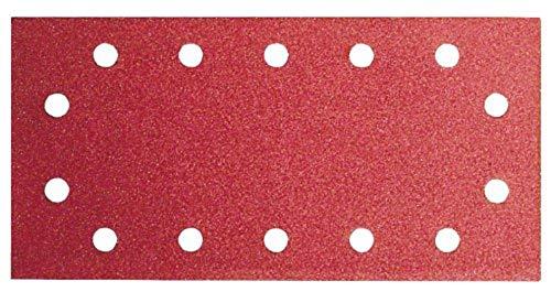 Bosch Schleifblatt (für Schwingschleifer verschiedene Materialien, 10 Stück, 115 x 280 mm, Körnung 40)