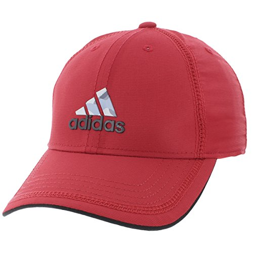 adidas Contract Structured Gorra Ajustable para Hombre, Color Rojo, Negro y Estampado de Camuflaje, Talla única