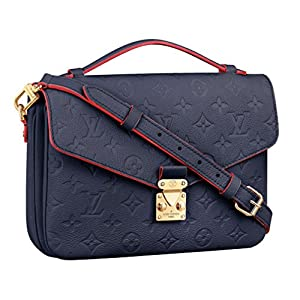 Fashion Shopping Louis Vuitton Monogram Empreinte Leather Pochette Metis Handbag Article: M44071 Made in France
