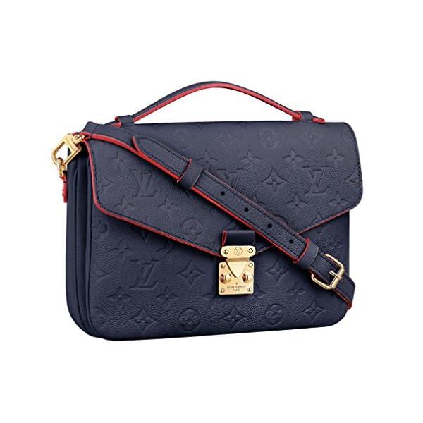 Fashion Shopping Louis Vuitton Monogram Empreinte Leather Pochette Metis Handbag Article: M44071 Made