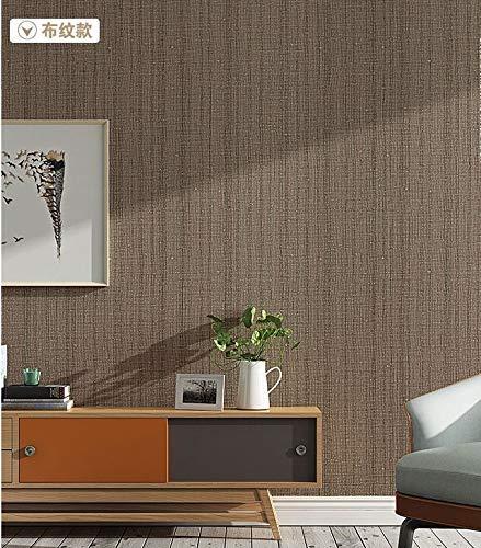 YLCJ Papier Peint Moderne Simple Granule Tissu Literie Écologique Couleur Unie Non-tissé Papier Peint Murale Murale Super Fresque Pour Salon Chambre Décor À La Maison Café Gris
