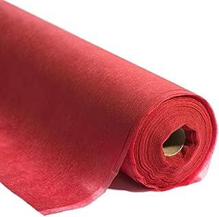 Red Flame Retardant Gossamer Fabric, 19 Inches x 25 Yards
