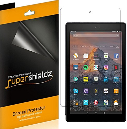 (3 Pack) Supershieldz Designed for Fire HD 10 Tablet 10.1 inch (9th and 7th Generation, 2019 and 2017 Release) Screen…