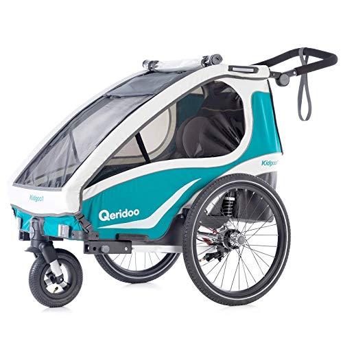 Qeridoo Kidgoo Fahrradanhänger – Modell 2019