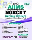 SURA`S AIIMS NORCET (Nursing Officers Recruitment Common Entrance Test) Exam Books - LATEST EDITION 2022