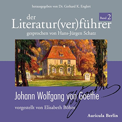 Page de couverture de Johann Wolfgang von Goethe