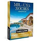 DAKOTABOX - Caja Regalo hombre mujer pareja idea de regalo - Mil y una noches románticas - 4600 estancias en palacios, hoteles de hasta 5*, balnearios y mucho más