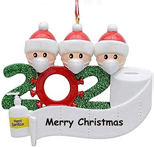 Christmas Decoration, 2020 Christmas Decorations for The Family Santa Claus Father Christmas Christmas Santa (White 2,A)