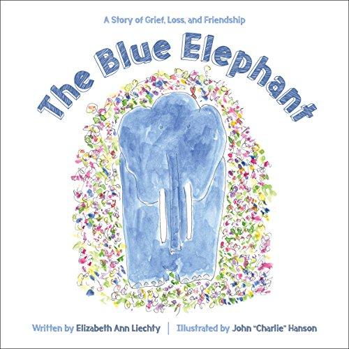 The Blue Elephant audiobook cover art