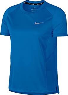 Nike Australia Women's Miler Short-Sleeve Running Top