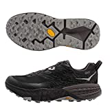 HOKA ONE ONE Mens Speedgoat 3 Waterproof Black/Drizzle Running Shoe -...
