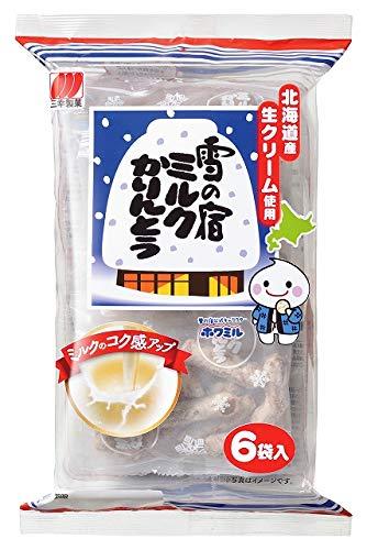 三幸製菓 雪の宿ミルクかりんとう 120g×12袋