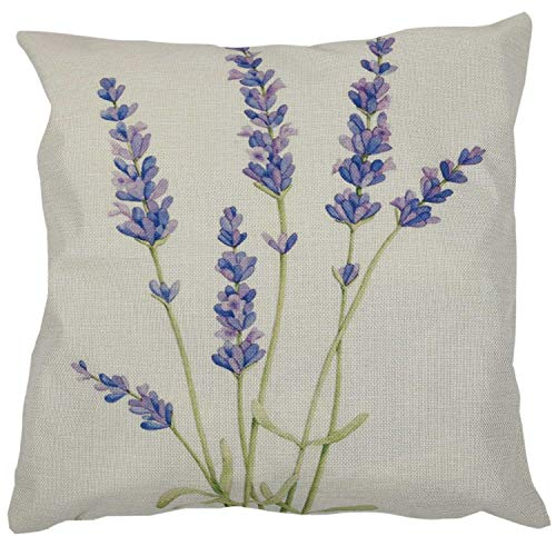 CKMSYUDG - Federa per cuscino per auto, divano, letto, decorazione per la casa, 45,7 cm, colore: lavanda