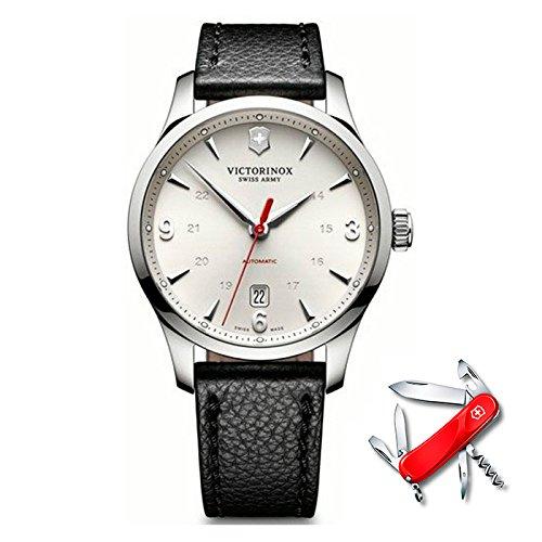 Victorinox alliance orologio Uomo Analogico Automatico con cinturino in Pelle di vitello V241666