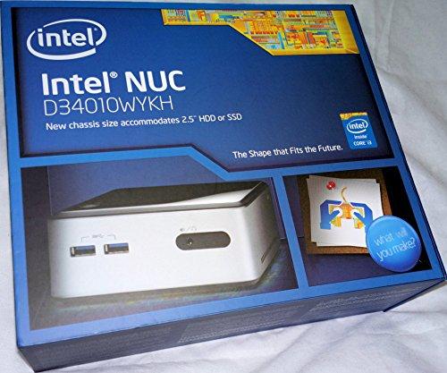 Intel BOXD34010WYKH Haswell NUC PC-Barebone Thin Client (Core i3-4010U, 2x 1,7GHz, mini-HDMI, mini-DisplayPort, 4x USB 3.0)
