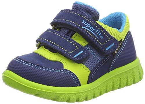 Superfit Baby Jungen SPORT7 Mini Sneaker, Blau (Water Kombi), 25 EU