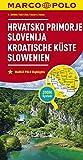 MARCO POLO Karte Kroatische Küste, Slowenien 1:300 000: Wegenkaart 1:300 000 (MARCO POLO Karten 1:300.000)